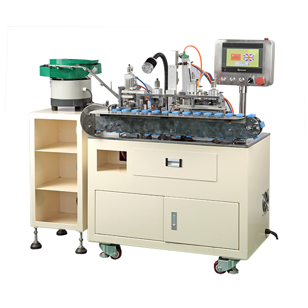 AM121-P High precise automatic USB cable soldering machine