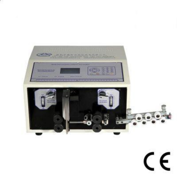 AM607-1 Automatic wire cutting stripping machine for thin roll jacket cable