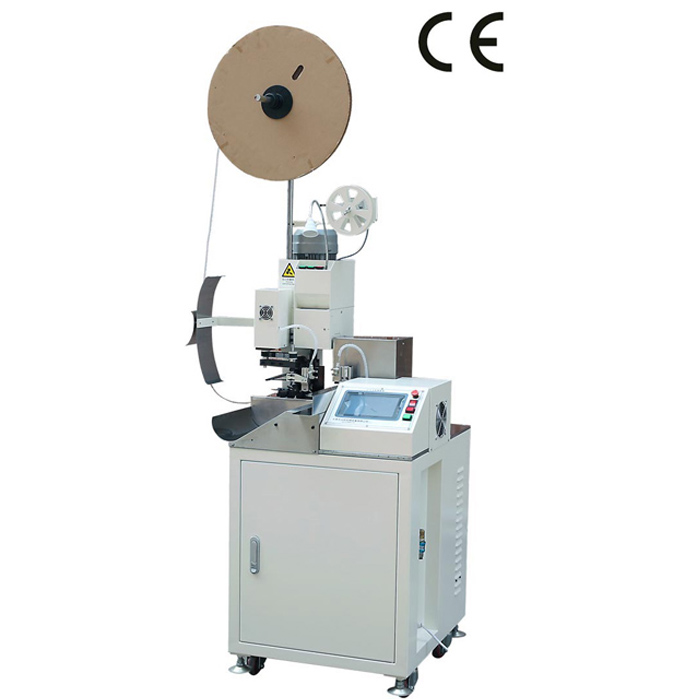 AM201 Automatic Wire Cutting Stripping Twisting and Crimping Machine