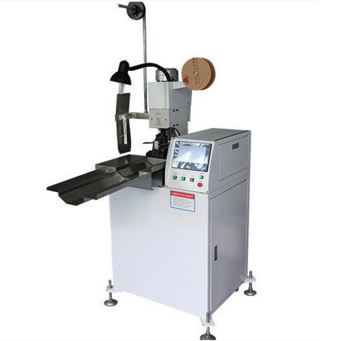 AM201-A Full automatic double cable crimping machine