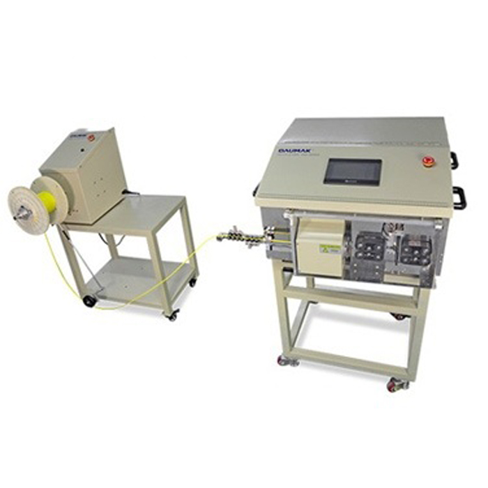 AM6905 Full automatic coaxial wire stripping machine