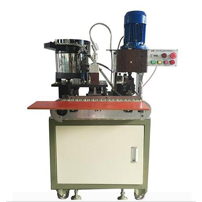 AM203-G Automatic European standard plug crimping machine